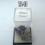 CORDIERITE 15mm   natural Crystal specimens IN DISPLAYBOX